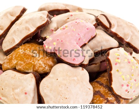 Some gingerbreads - stock photo