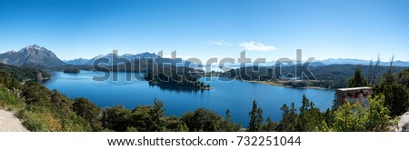 Some of the lakes in Bariloche, Argentina, sometimes known as Patagonia lite