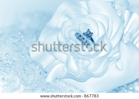 Something Borrowed, Something Blue Background