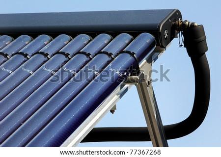 Sonnenkollektor 3 - stock photo