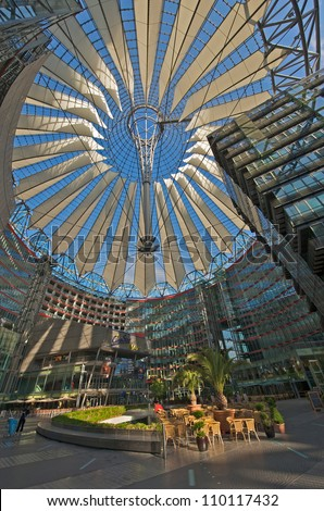Sony Center, Berlin Germany