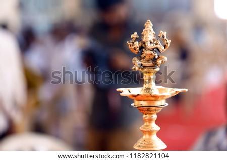 Soon it will get light. Hindu wedding ceremony.