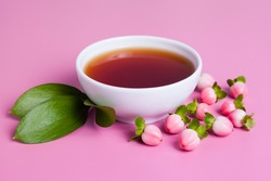 soothing tea from the Hypericum berries