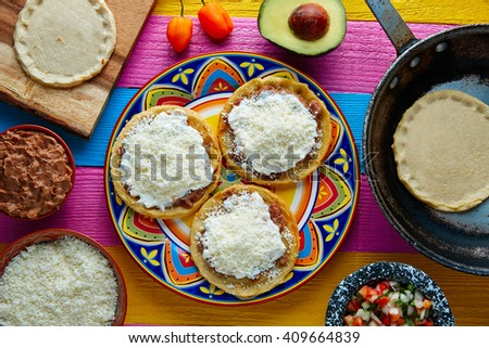 Shutterstock Sopes handmade mexican traditional food thick corn masa tortillas