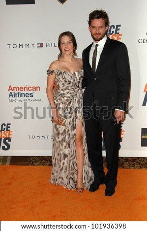Sophia Bush and Austin Nichols at the 17th Annual Race To Erase MS, Century Plaza Hotel, Century City, CA 05-07-10