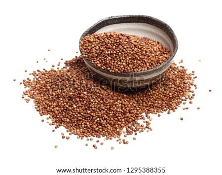 Sorgo seed (Sorghum Moench) Zdjęcia stock ©