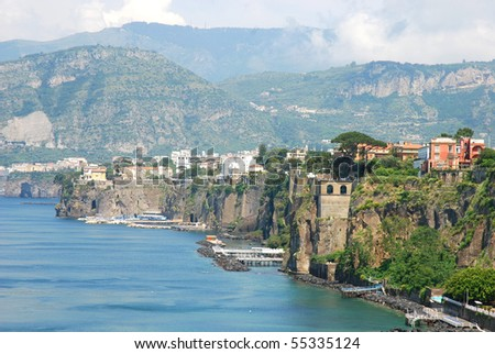 Sorrento coast, Italy