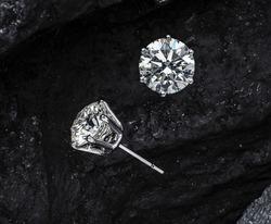 Sort diamond earring set for women