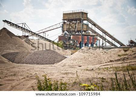 Sorting plant - mining industry