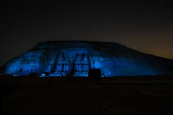 Sound and Light show in Abu Simbel