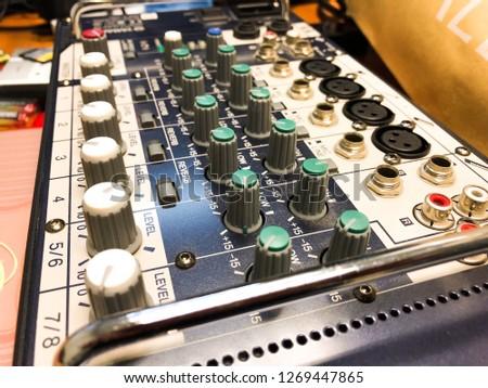 Sound engineer (Sound Adjustment Board) #1269447865