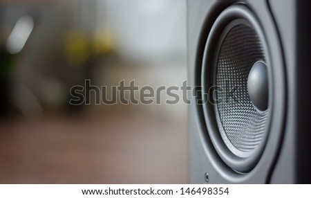Sound space in room