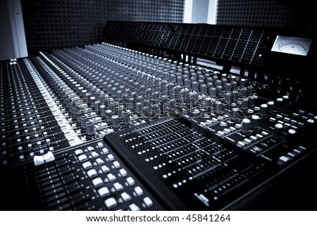 Sound studio equipment
