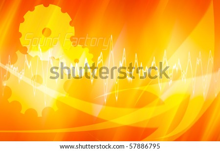 sound wallpaper abstract image; background theme
