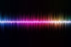 sound-wave background