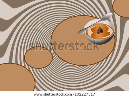 Soup background with space (poster, web, leaflet, magazine)