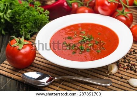 Soup, Tomato, Tomato Soup.