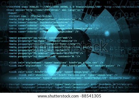 Source code technology background