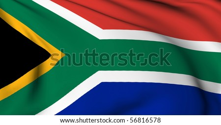 South Africa flag World flags Collection