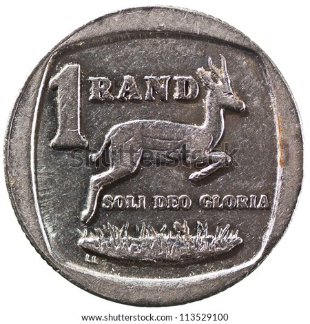South Africa One Rand Coin