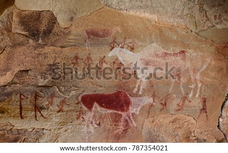 South African Bushman Rock Art 10