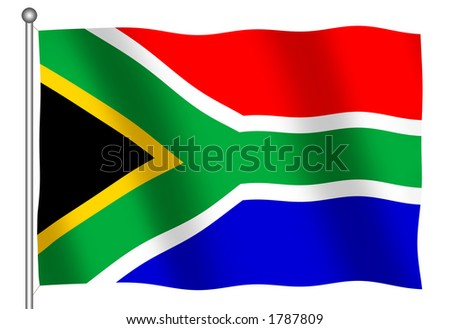 stock photo : South African