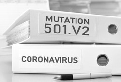 south african mutation 501.v2 of coronavirus concept
