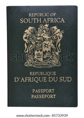 South African Passport.