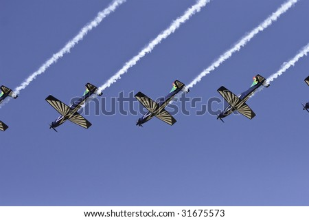 South African Silver Falcon Falcons  smoke trail