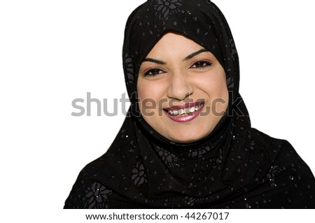 South asian muslim teen age girl