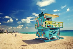 South Beach in Miami, Florida