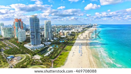 South Beach, Miami Beach. Florida.