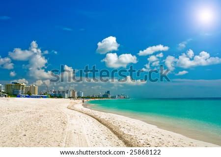 South Beach Miami, Florida - stock photo