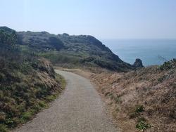 South Coast Cliffs, Guernsey Channel Islands