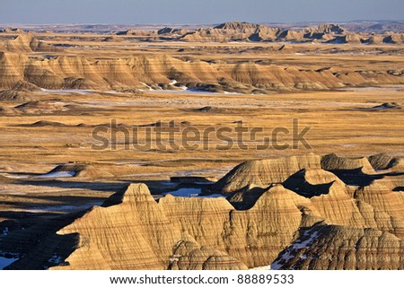 South Dakota Badlands