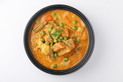 south Indian food ,Korma, a mix vegetable curry prepare using coconut milk