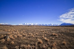 South Island Landscape Scenery, Canterbury, New Zealand