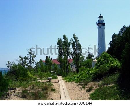 South Manitou Island Lighthouse, Lake Michigan