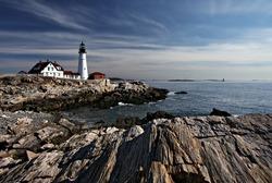 South Portland Maine, Portland head Lighthouse Cape Elizabeth