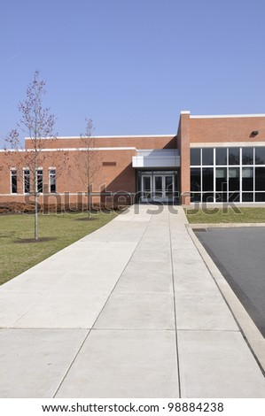 Southern Lehigh Intermediate school in Center Valley, Pennsylvania