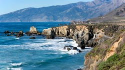 Southern tip of Big Sur, California