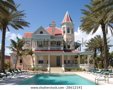 Southernmost House in the Contiguous United States - stock photo