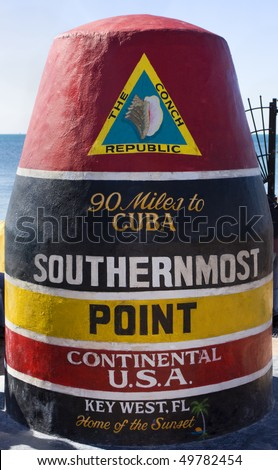 Southernmost Point of Continental USA, Key West