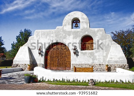 Southwest Church in Tubac Arizona