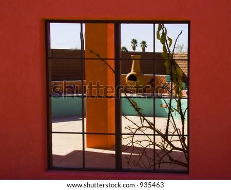 Southwest Window View