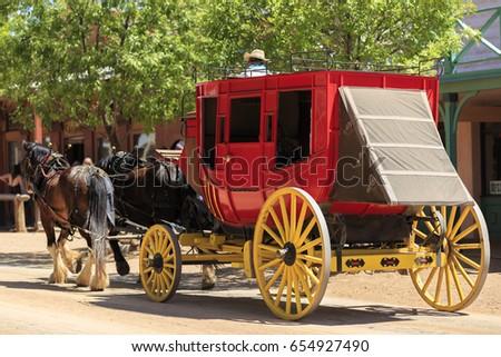 Southwestern Stage Coach  #654927490