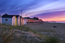 Southwold Beach at Sunrise