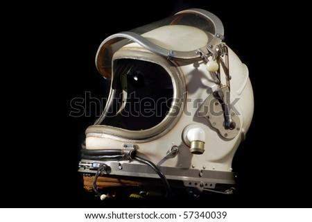 Soviet military pilot  helmet