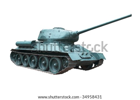 Soviet tank T-34 . Weapons of Victory, The best medium tank of World War II.