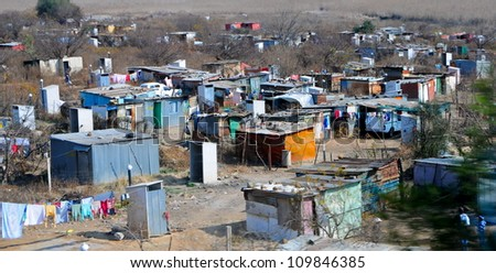 Soweto township, Johannesburg, South Africa